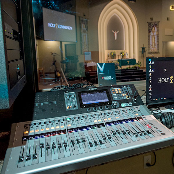Holy Communion Audio System